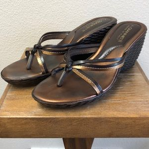 🎟 A. Giannetti Wedge Sandals